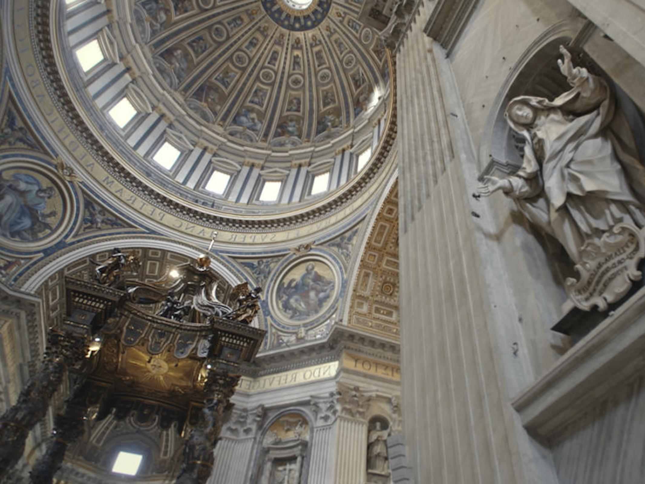 Sankt Peter im Vatikan : die Basilika aller Aufzeichnungen