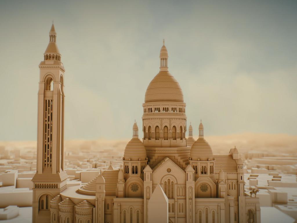 Das Sacré-Coeur : Historische Megastrukturen