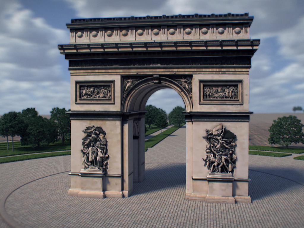 Paris, Napoleon große Werke